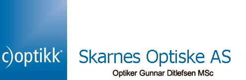 Logo for Skarnes Optiske